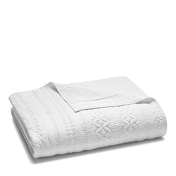 Sky - Soft Crinkle Coverlet, Full/Queen - 100% Exclusive