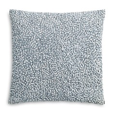 "Sky - Linear Floral French Knot Decorative Pillow, 18"" x 18"" - 100% Exclusive"
