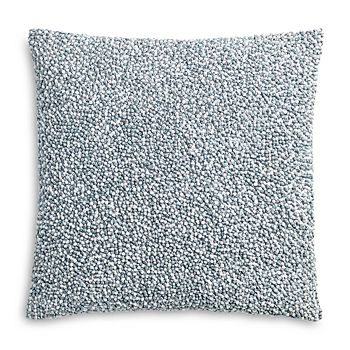 """Sky - Linear Floral French Knot Decorative Pillow, 18"""" x 18"""" - 100% Exclusive"""