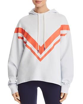 8a261a9c39d29 Tory Sport - Chevron Hooded Sweatshirt ...