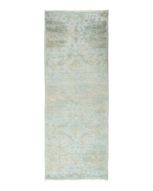 Solo Rugs Vibrance Collection Vita Hand-Knotted Area Rug, 3' x 8'2