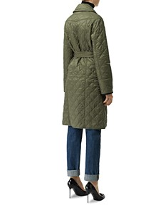 Burberry - Double-Breasted Quilted Trench Coat