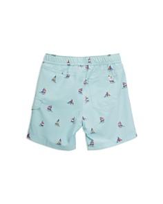 Sovereign Code - Boys' Shark Print Swim Trunks - Baby