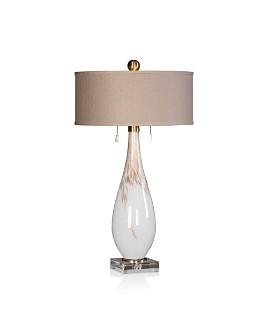 Uttermost - Cardoni White Glass Table Lamp
