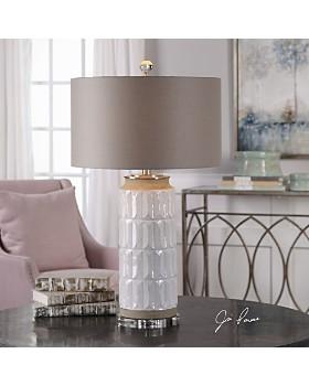 Uttermost - Athilda Gloss White Table Lamp