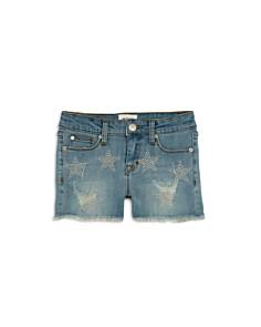 Hudson - Girls' Celestina Studded Denim Shorts - Little Kid