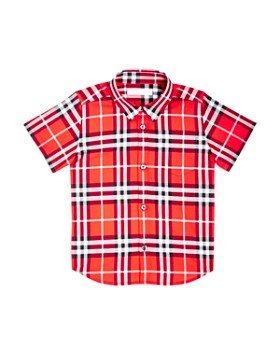 Burberry - Boys' Fred Check Shirt - Little Kid, Big Kid
