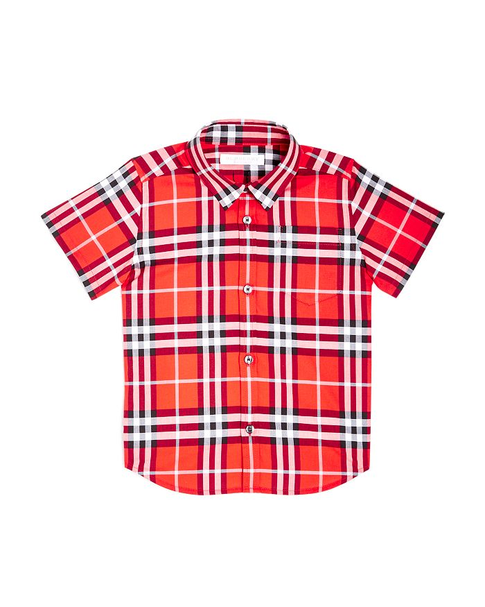 Burberry - Boys' Fred Check Shirt - Little Kid, Big Kid