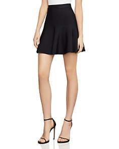 BCBGMAXAZRIA - Ingrid A-Line Mini Skirt