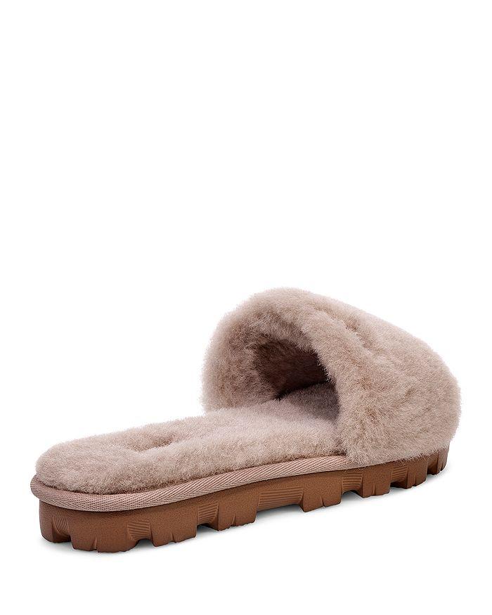 84d17d394 UGG® Women's Cozette Fur Slide Sandals   Bloomingdale's