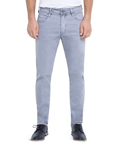 Liverpool - Kingston Slim Straight Fit Jeans in Sharkskin