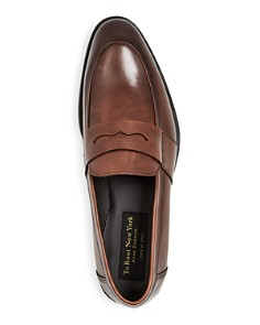 To Boot New York - Men's Devries Leather Apron-Toe Penny Loafers