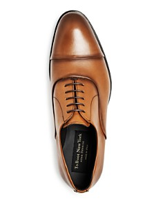 To Boot New York - Men's Hudson Leather Cap-Toe Oxfords