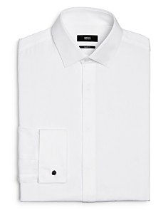 BOSS - Myron Pincord Stripe Sharp Fit Dress Shirt