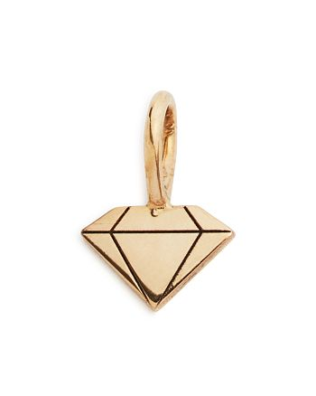 Zoë Chicco - 14K Yellow Gold Midi Bitty Gemstone-Shaped Charm