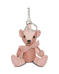 Burberry - Thomas Solid Leather Bear Charm