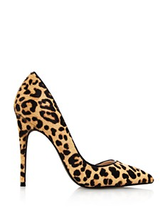 AQUA - Women's Dion Leopard Print High-Heel d'Orsay Pumps - 100% Exclusive