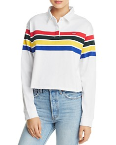 Levi's - Rugby-Striped Polo Top