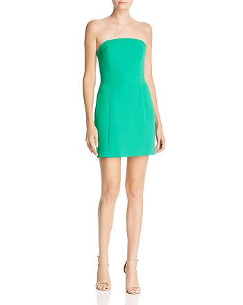 Amanda Uprichard - Mandy Strapless Mini Dress