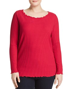 JUNAROSE Plus - Kornelie Ribbed Top