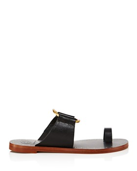 79ce54d8f49c5 ... Tory Burch - Women s Ravello Studded Leather Slide Sandals