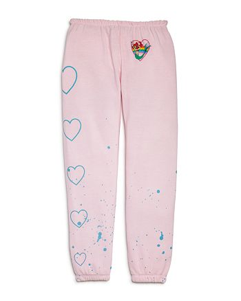 CHASER - Disney Girls' The Little Mermaid Lounge Pant - Little Kid