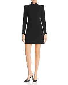 AQUA - Puff-Sleeve Shift Dress - 100% Exclusive
