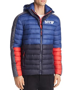 Superdry - Fuji Color-Block Puffer Jacket