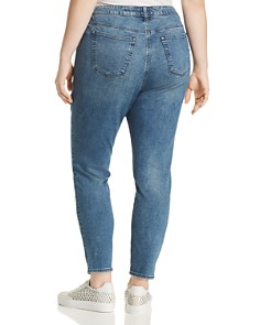 Lucky Brand Plus - Lolita Embroidered Skinny Jeans in Avon