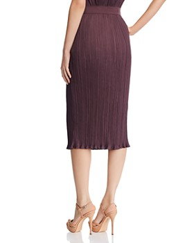 Max Mara - Emmy Pleated Midi Skirt