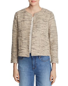 Eileen Fisher - Boxy & Open Textured-Knit Jacket