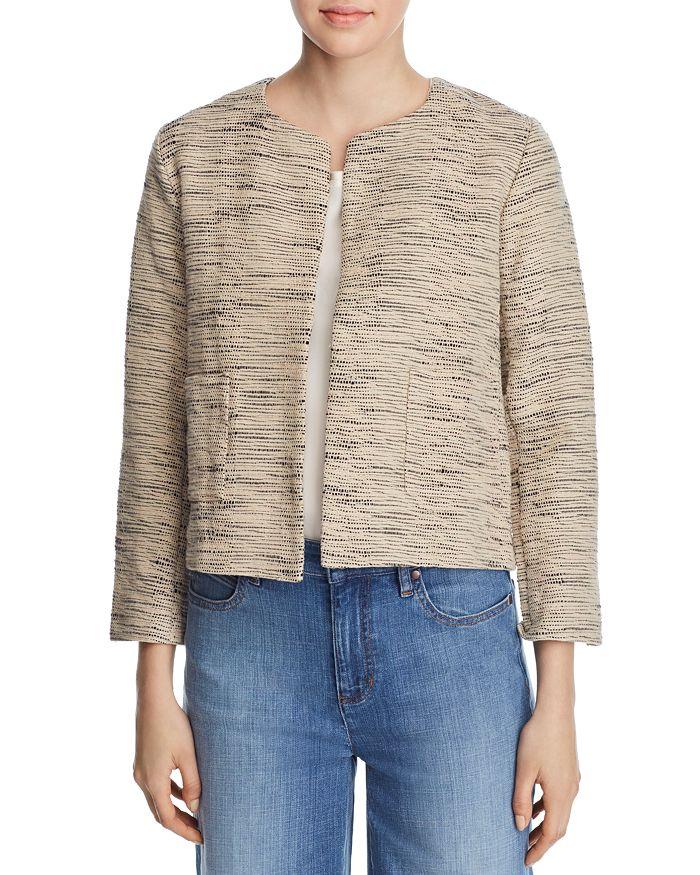 Eileen Fisher - Boxy & Open Textured-Knit Jacket