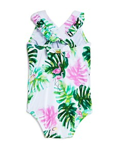 PilyQ - Girls' Mingos One-Piece Swimsuit - Baby