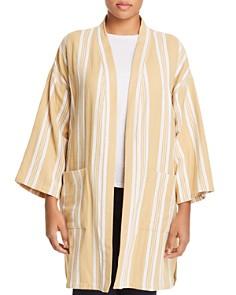 Eileen Fisher Plus - Organic Cotton Kimono Jacket