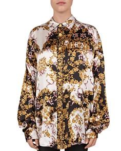 The Kooples - Italian Baroque Floral Silk Blouse
