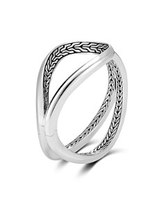 JOHN HARDY - Sterling Silver Classic Chain Hinged Cuff
