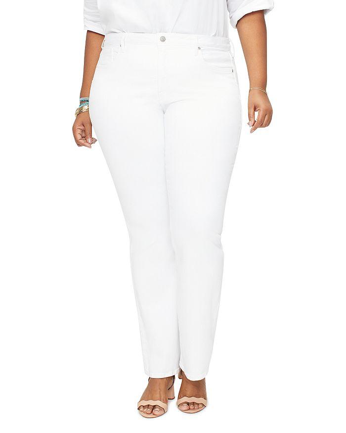 NYDJ Plus - Barbara Bootcut Jeans in Optic White