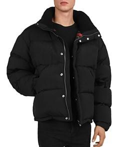 The Kooples - Quilted Down Zip Jacket