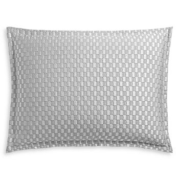 Hudson Park Collection - Luxe Block Matelassé Quilted King Sham - 100% Exclusive