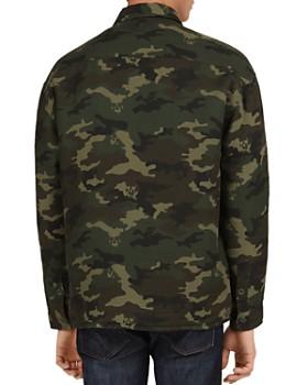 The Kooples - Camouflage Denim Zip Shirt