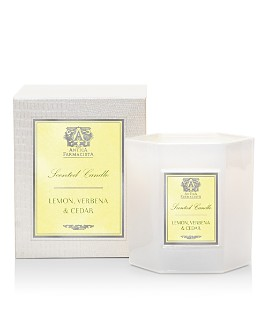 Antica Farmacista - Lemon, Verbena & Cedar Hexagonal Candle, 9 oz.