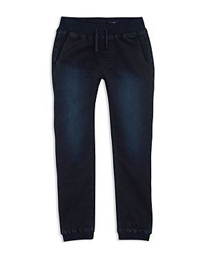 ag Adriano Goldschmied Kids Boys The Luke Denim Jogger Pants  Big Kid