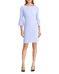 Ralph Lauren - Bell-Sleeve Jersey Dress