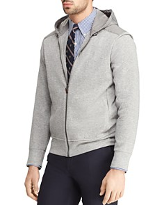 Polo Ralph Lauren - Double-Knit Mixed-Media Hoodie