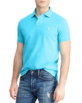 82df725e Polo Ralph Lauren - Mesh Classic Fit Polo Shirt ...