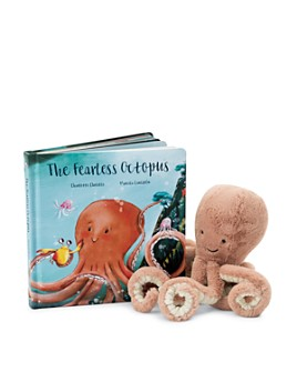 Jellycat - The Fearless Octopus Book - Ages 0+