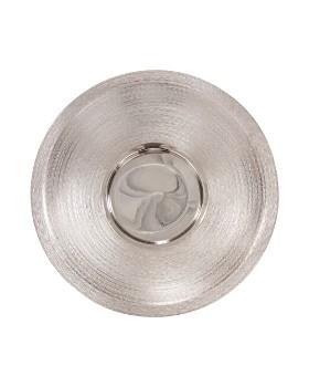 Howard Elliott - Textured Silver Large Metal Platter