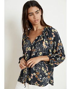 Velvet by Graham & Spencer - Sharla Floral Peasant Top