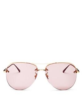 Bottega Veneta - Women's Aviator Sunglasses, 61mm