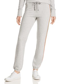 Sundry - Rainbow-Stripe Sweatpants